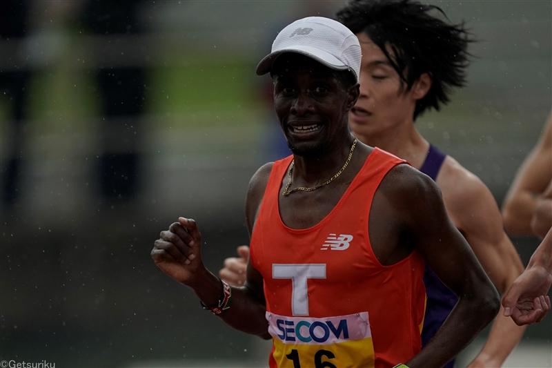 拓大のラジニが10000mでモグス超えの日本学生新! 27分25秒65/日体大長距離競技会