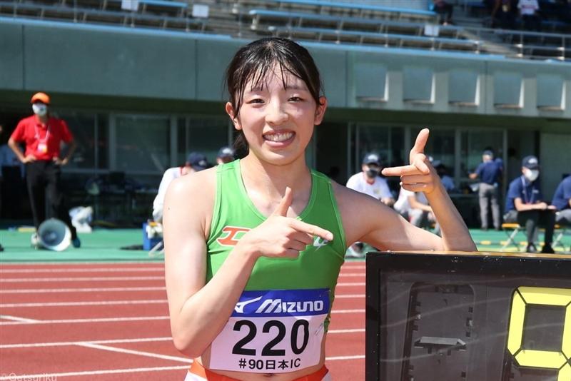 19年世界選手権3000mSC代表・吉村玲美が9分41秒43の学生新で貫禄の3連覇!/日本IC