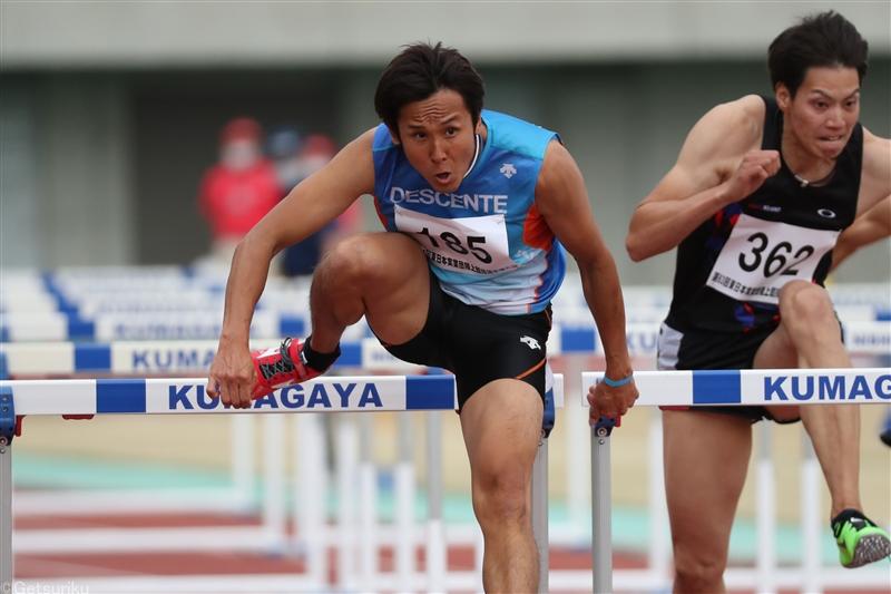 男子110mHリオ五輪代表の矢澤航が引退発表「幸せな選手生活でした」全日本実業団に出場