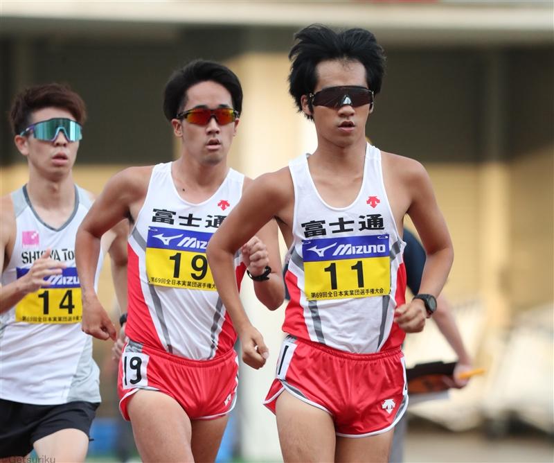 男子10000m競歩は高橋が貫禄勝ち パリ五輪に向けては「一歩一歩」/全日本実業団
