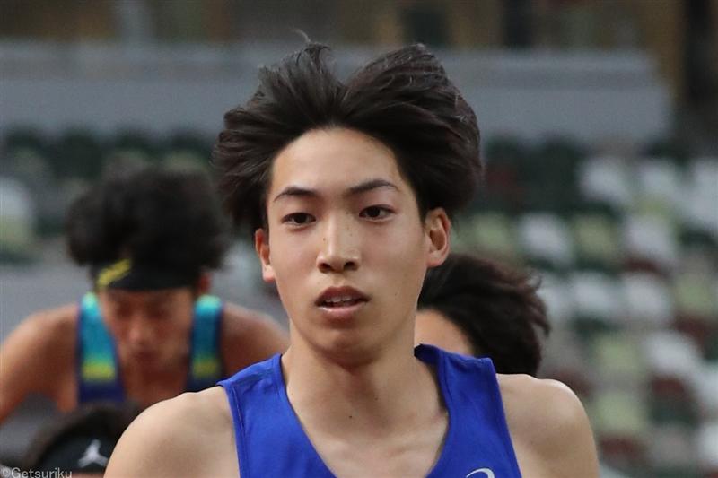 三浦龍司が初10000mで28分32秒28 出雲欠場も全日本に向け好調アピール/順大競技会