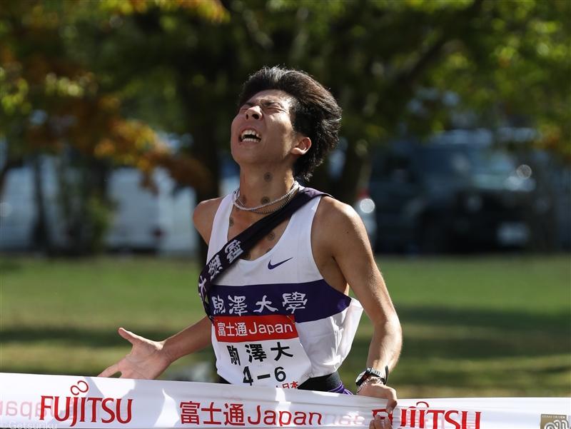 【出雲駅伝】青学大が2位、東洋大3位、王者・駒大は田澤廉が激走見せ5位フィニッシュ