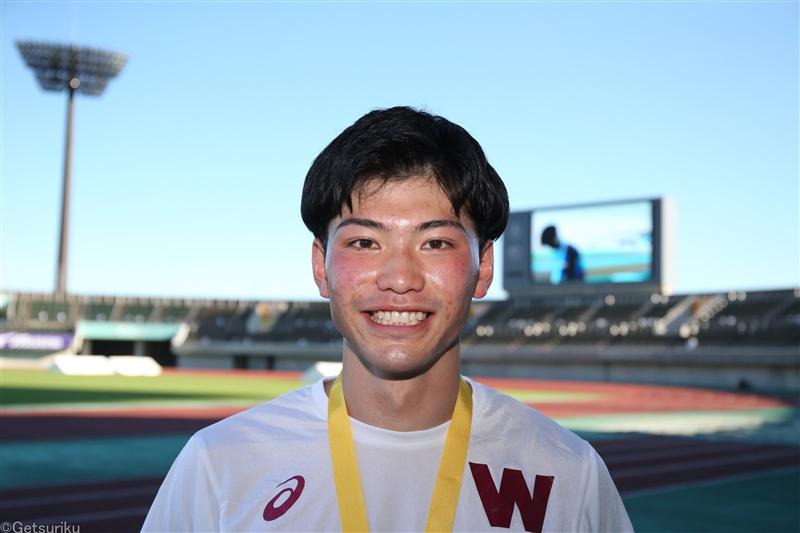 400mH東京五輪代表の山内大夢 来春、東邦銀行へ「地元福島でより一層頑張りたい」